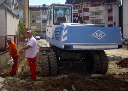 Infrastrukturni radovi u MZ Ključ