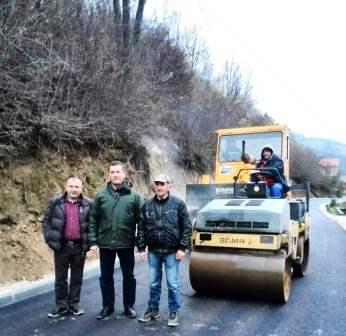 Asfaltirana jedna dionica lokalnog puta Ključ-Humići