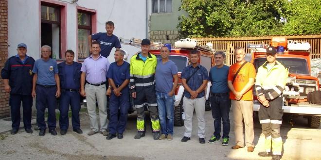 Demonstrirane mogućnosti doniranih vatrogasnih vozila
