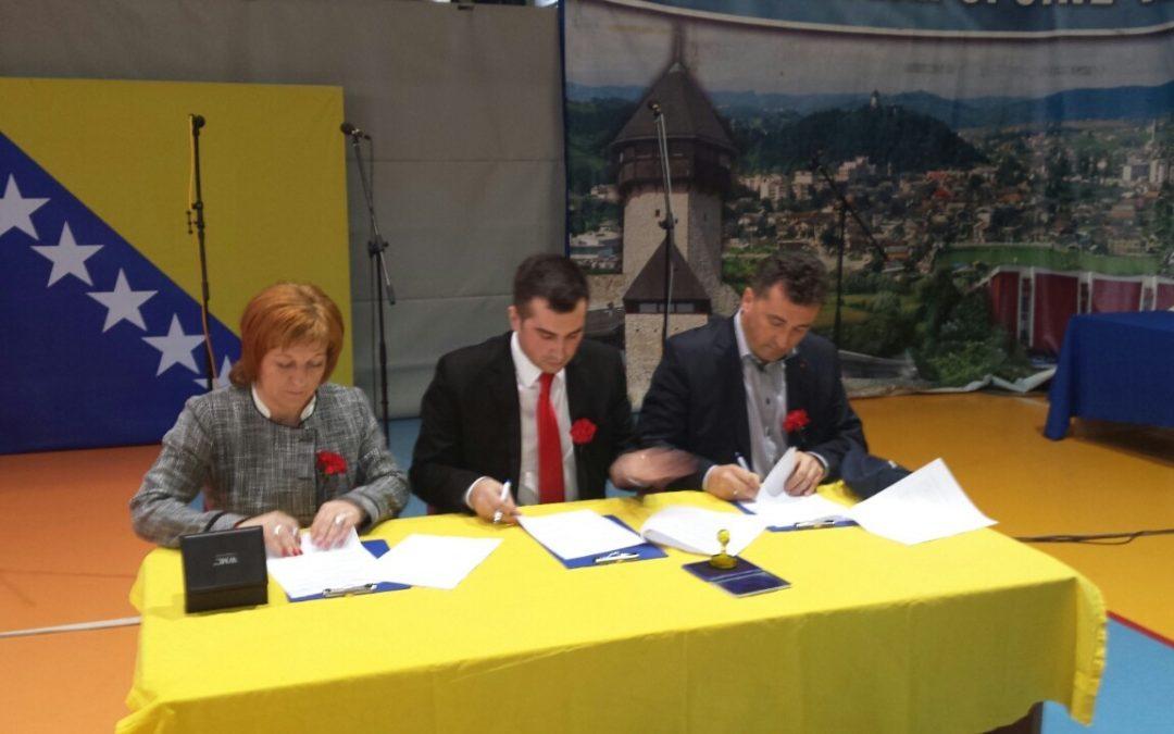 Potpisan Memorandum o međuopćinskoj saradnji