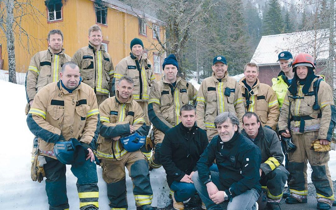Vatrogasna jedinica iz Ključa boravila u Norveškoj na obuci
