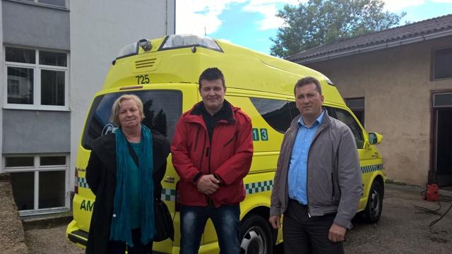 Ambulantno vozilo – donacija HO Nova Nada iz Norveške