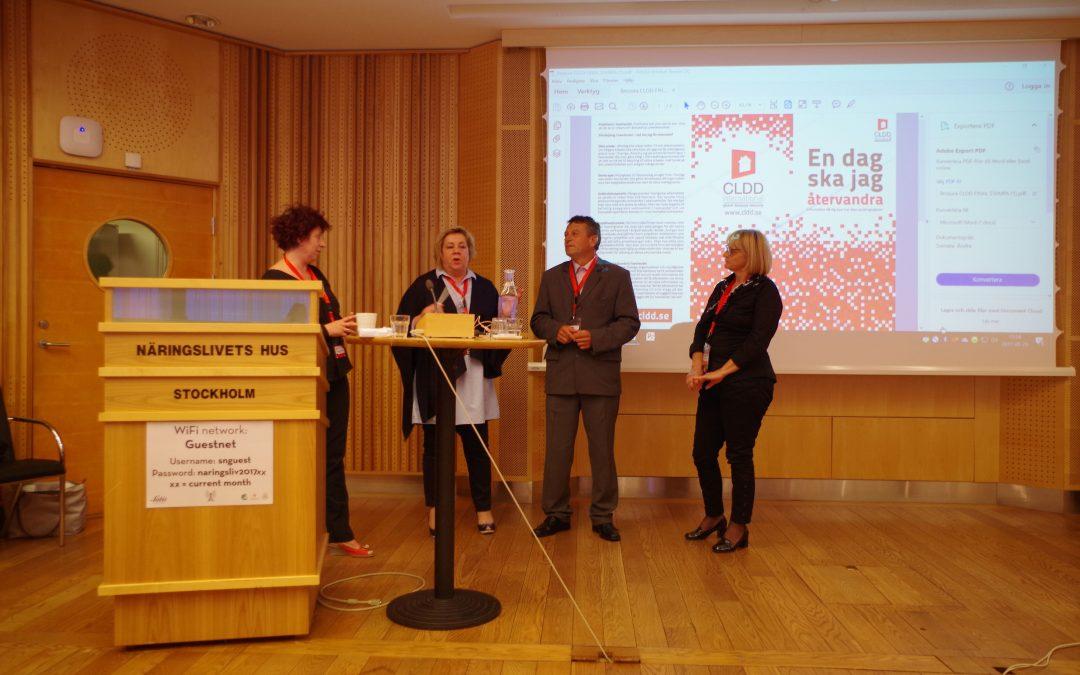 CLDD Internacional za Bosnu i Hercegovinu,  učestvovao u organizaciji i realizaciji međunarodne konferencije u Štokholmu – Connexchange workshop