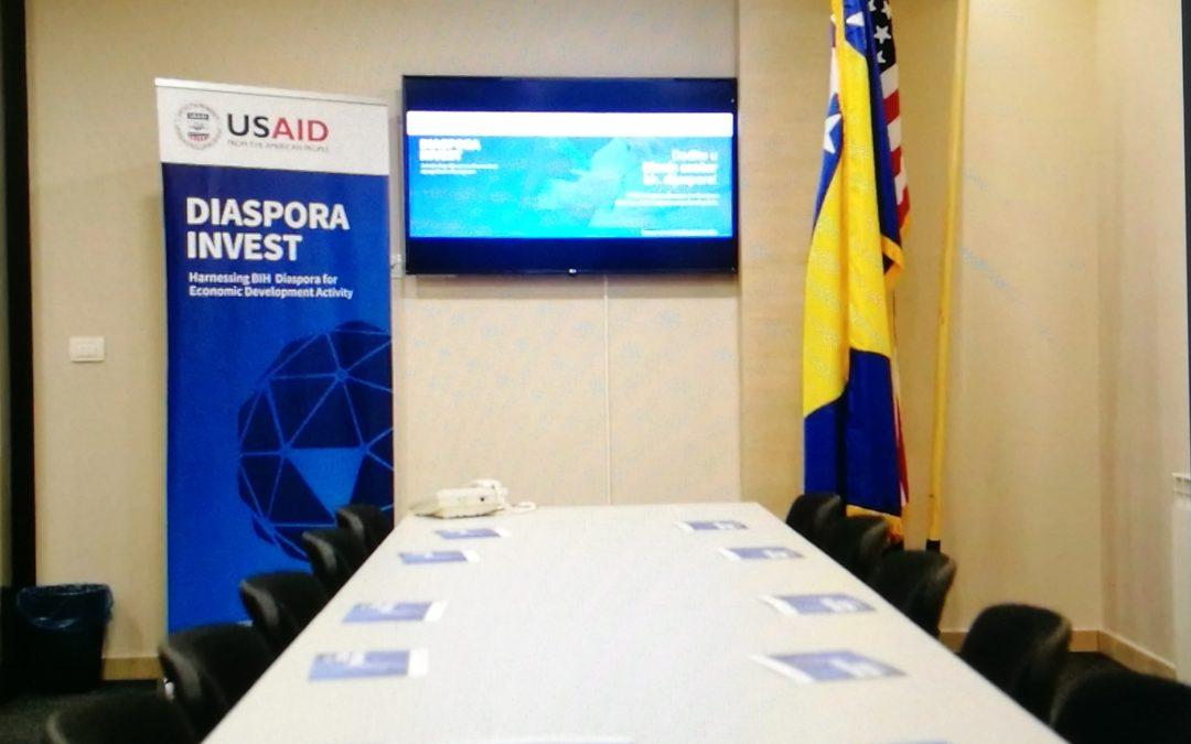U Sarajevu predstavljen biznis centar bh. dijaspore: Dobro mjesto za početak posla
