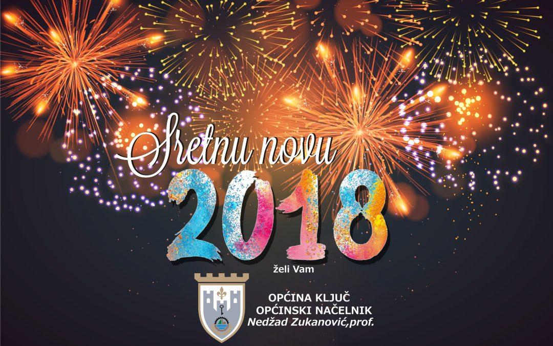 Sretna Nova 2018. godina