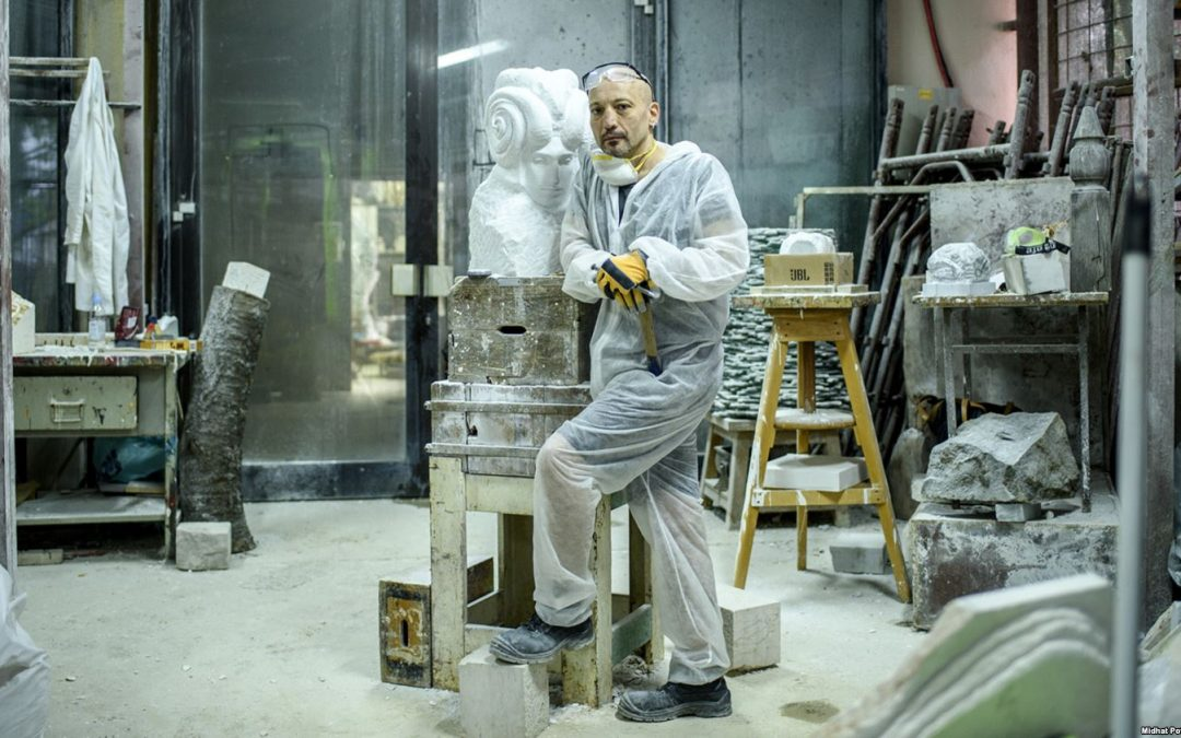 Intervju Adis Elias Fejzić, bosanskohercegovački skulptor za Radio Slobodna Evropa