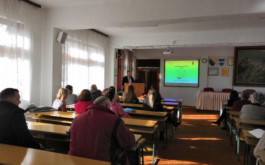 Održan I sastanak Partnerske grupe za izradu revizije Strategije razvoja općine Ključ 2014 – 2023