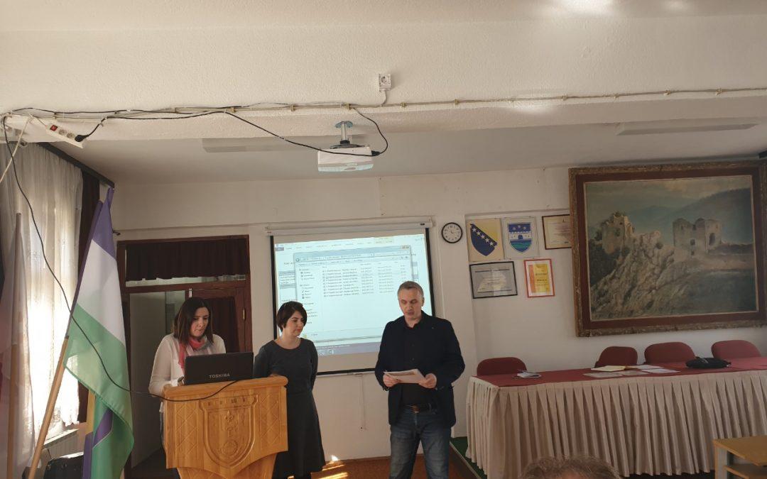Održan zajednički sastanak Općinskog razvojnog tima i Sektorskih grupa za za izradu revizije Strategije razvoja općine Ključ 2014 – 2023.