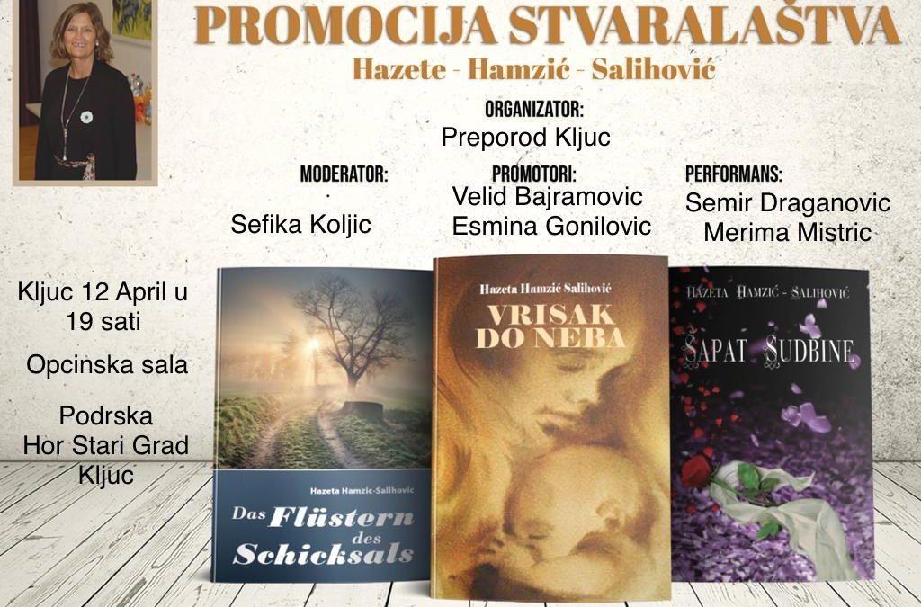 Promocija stvaralaštva Hazete Hamzić Salihović