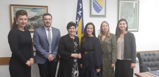 Ministrica Borovac primila u posjetu državnu sekretarku Ministarstva trgovine, industrije i ribarstva Kraljevine Norveške Hanu Sumeju Atić