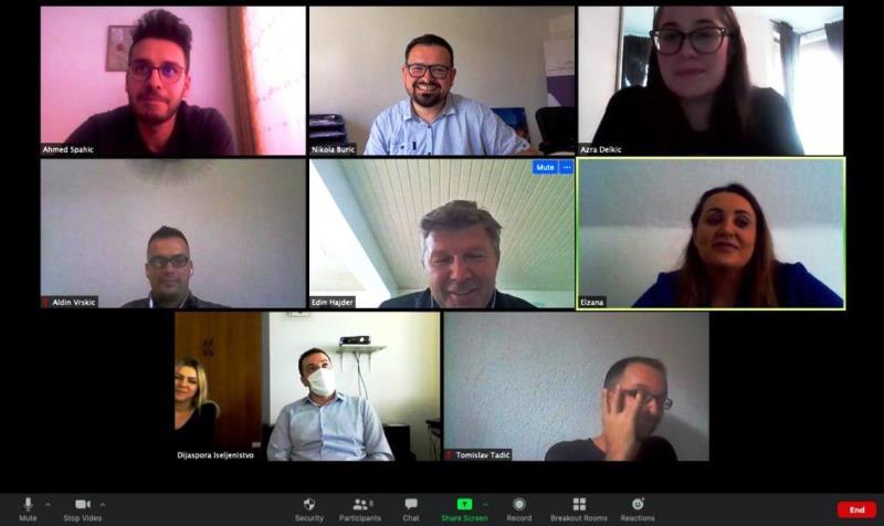 Održan drugi Diaspora Online Check-In – avgust/kolovoz 2020