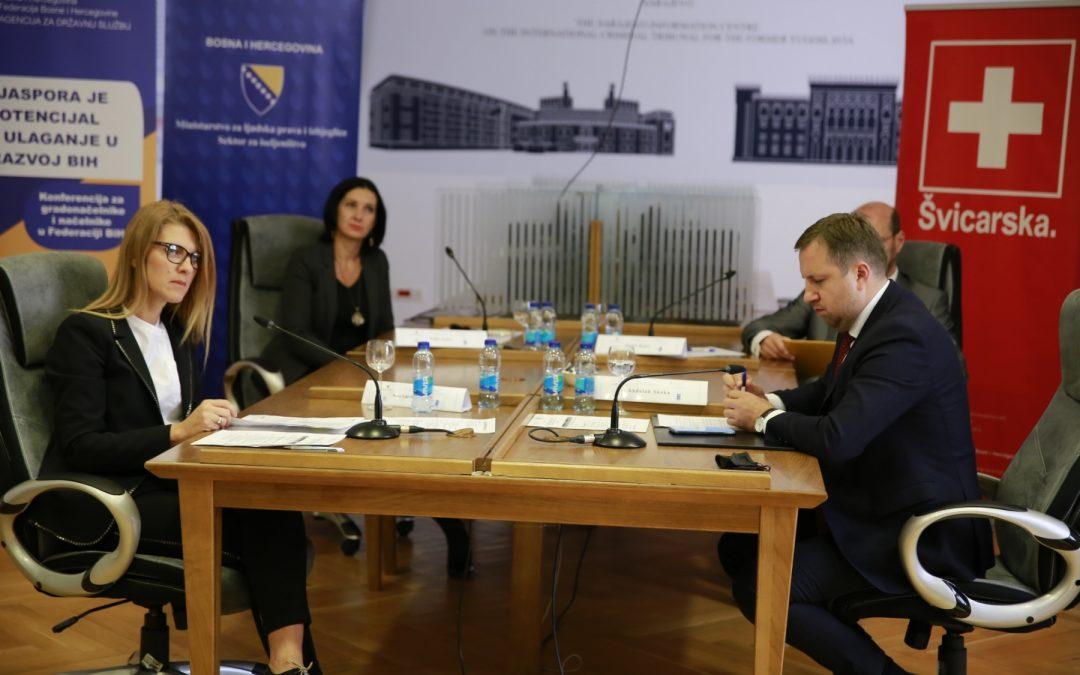 """Održana online konferencija """"Dijaspora je potencijal za ulaganje u razvoj BiH"""""""