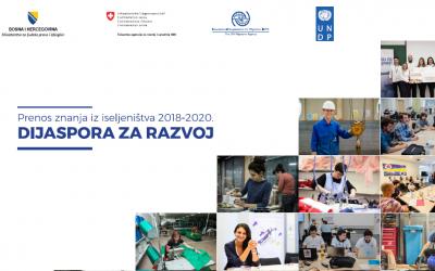 Objavljena publikacija ''Prenos znanja iz iseljeništva 2018 – 2020''