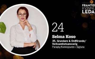 Selma Koso proglašena jednom od najuspješnijih žena u Švedskoj: To je priznanje svim ženama koje neumorno rade za svijet bez nasilja