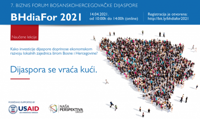 """Online BHdiaFor u aprilu okuplja investitore: """"Dijaspora se vraća kući"""""""
